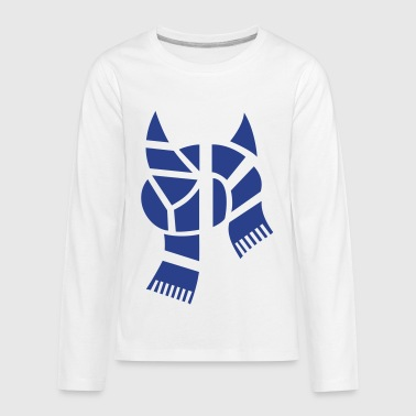 Finnish Hockey Finland Suomi Scarf 1c ++ - Kids' Premium Long Sleeve T-Shirt