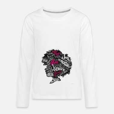 Black Girl Black girl - Kids' Premium Long Sleeve T-Shirt