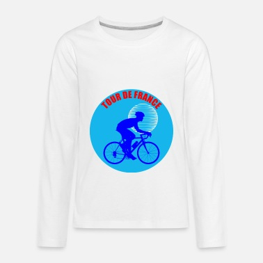 France Tour De France - Kids' Premium Long Sleeve T-Shirt
