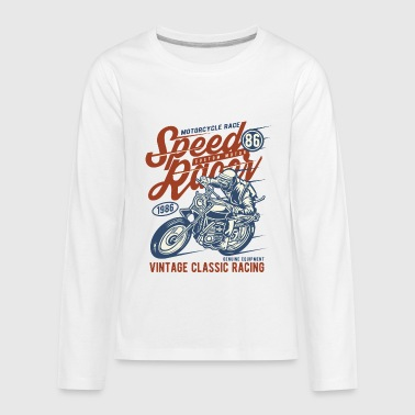 Speed Racer Vintage Classic Racing - Kids' Premium Long Sleeve T-Shirt