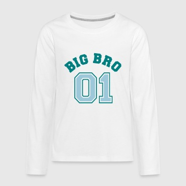 big bro 01 - Kids' Premium Long Sleeve T-Shirt