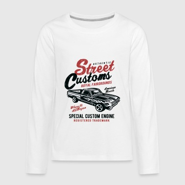 Street Customs Vintage Car - Kids' Premium Long Sleeve T-Shirt