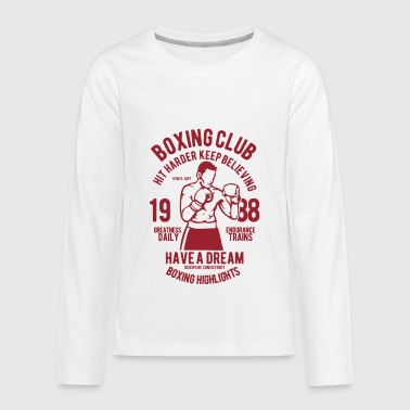 Punch Out - Kids' Premium Long Sleeve T-Shirt