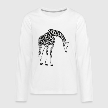 Giraffe Family - Kids' Premium Long Sleeve T-Shirt