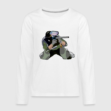 Paintball - Kids' Premium Long Sleeve T-Shirt