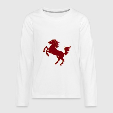 Stallion - Kids' Premium Long Sleeve T-Shirt