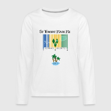 St Vincent made me - Kids' Premium Long Sleeve T-Shirt