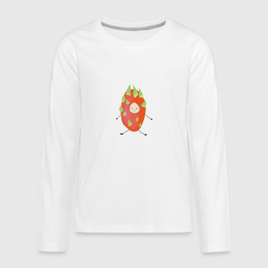 dragon fruit boy - Kids' Premium Long Sleeve T-Shirt