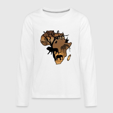 Safari - Kids' Premium Long Sleeve T-Shirt