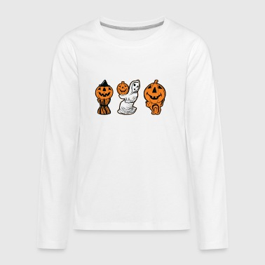 Vintage Halloween Blow Molds - Kids' Premium Long Sleeve T-Shirt