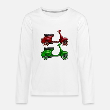 Scooter Driver Scooter - Kids' Premium Long Sleeve T-Shirt