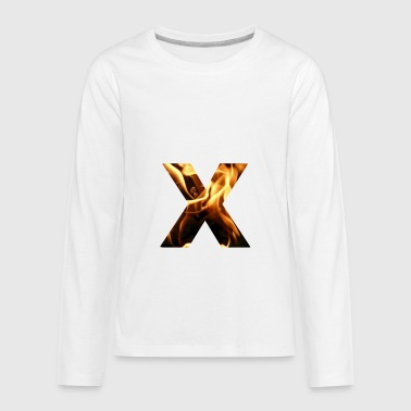 flame - Kids' Premium Long Sleeve T-Shirt
