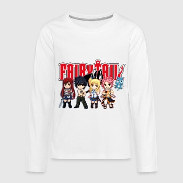 The Great Demon Group of Fairy Tail Anime - Kids' Premium Long Sleeve T-Shirt