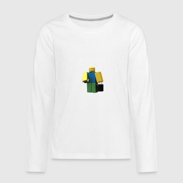 noob kids premium long sleeve