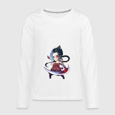Chibi kayn league of legends - Kids' Premium Long Sleeve T-Shirt