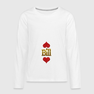 Bill - Kids' Premium Long Sleeve T-Shirt