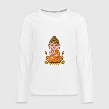 Buddha Spiritual Yoga - Kids' Premium Long Sleeve T-Shirt