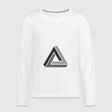 optical illusion - Kids' Premium Long Sleeve T-Shirt