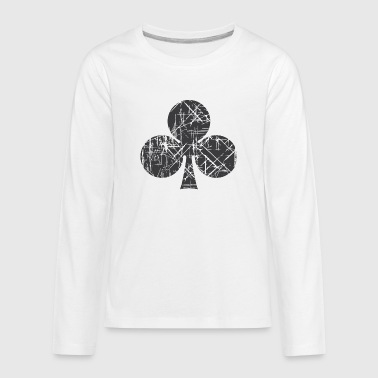 Cards Clubs Clubs Cards - Kids' Premium Long Sleeve T-Shirt