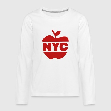 Big Apple NYC Big Apple - Kids' Premium Long Sleeve T-Shirt