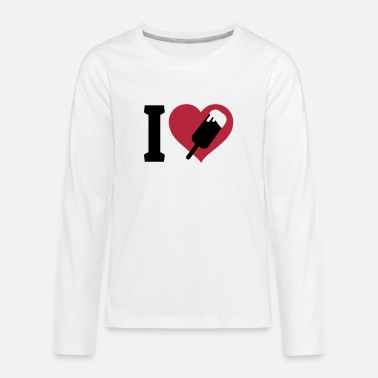 I Love Ice Cream I love Ice Cream - Kids' Premium Long Sleeve T-Shirt