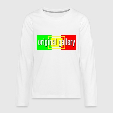 Rastafarian Flag OG Rasta - Kids' Premium Long Sleeve T-Shirt