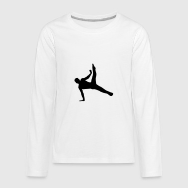 Gymnast, Gymnastics (super cheap!) - Kids' Premium Long Sleeve T-Shirt