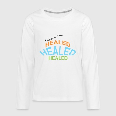 Healing healed - Kids' Premium Long Sleeve T-Shirt