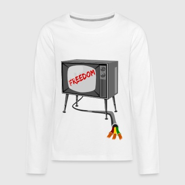 Television Freedom - Kids' Premium Long Sleeve T-Shirt