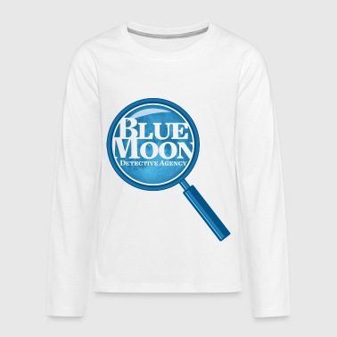 Detective Agency Blue Moon Detective Agency - Kids' Premium Long Sleeve T-Shirt