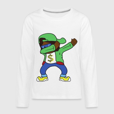 Dabbing Dab Rapper Hip Hop - Kids' Premium Long Sleeve T-Shirt
