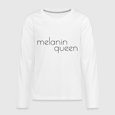 Melanin Queen PT2 Apparel - Kids' Premium Long Sleeve T-Shirt