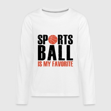 Ball Sports - Kids' Premium Long Sleeve T-Shirt