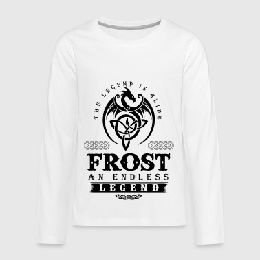FROST - Kids' Premium Long Sleeve T-Shirt
