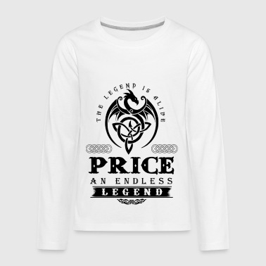 PRICE - Kids' Premium Long Sleeve T-Shirt