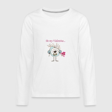 Valentine Day Poster - Kids' Premium Long Sleeve T-Shirt