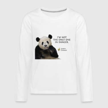Panda Endangered Pandas - Josiah's Covenant - Kids' Premium Long Sleeve T-Shirt