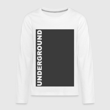 Underground - Kids' Premium Long Sleeve T-Shirt