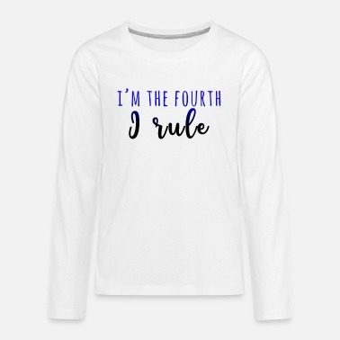 Big Brother I m the fourth, I rule - Kids' Premium Long Sleeve T-Shirt