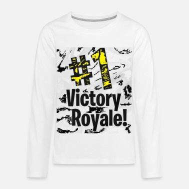 Victory Royale Victory Royal - Kids' Premium Long Sleeve T-Shirt