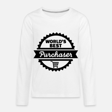 Purchase Purchaser - Kids' Premium Longsleeve Shirt