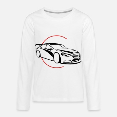 Renner Car,Renner,Sportscar,Vehicle,V8 ✔ - Kids' Premium Longsleeve Shirt