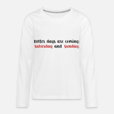 Weekend weekend - Kids' Premium Longsleeve Shirt