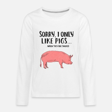f2629f84d Funny Grilled Smokes Pig meat Pork bbq beer Baby Lap Shoulder T ...