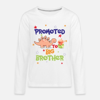 Promoted To Big Brother - Kids' Premium Longsleeve Shirt