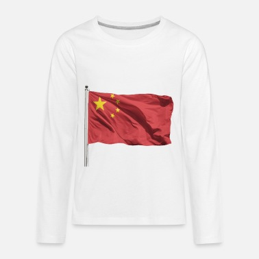 China China Flag - Kids' Premium Longsleeve Shirt