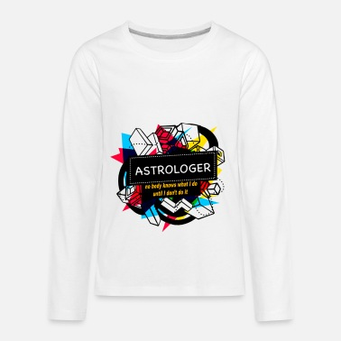 Astrology ASTROLOGER - Kids' Premium Longsleeve Shirt
