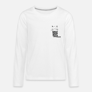 kitty - Kids' Premium Longsleeve Shirt
