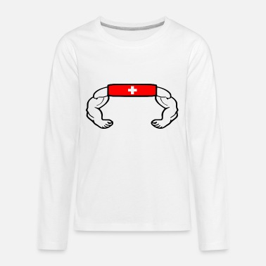 Swiss Switzerland - Kids' Premium Longsleeve Shirt