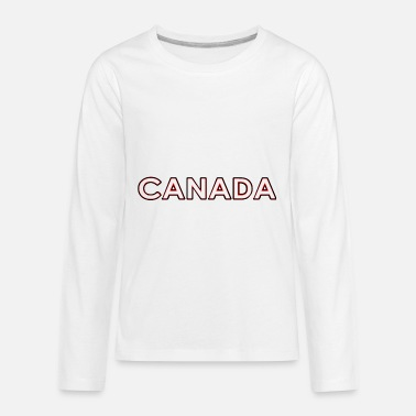 National Colours Canada - Montreal - National Colours - Vancouver - Kids' Premium Longsleeve Shirt